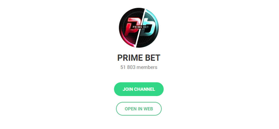 Телеграм канал Prime Bets (Prime Betting)