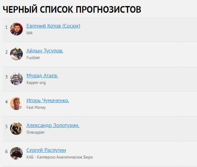 """Белый список прогнозистов в проекте Андрея Алистратова. """"Железная ставка"""""""