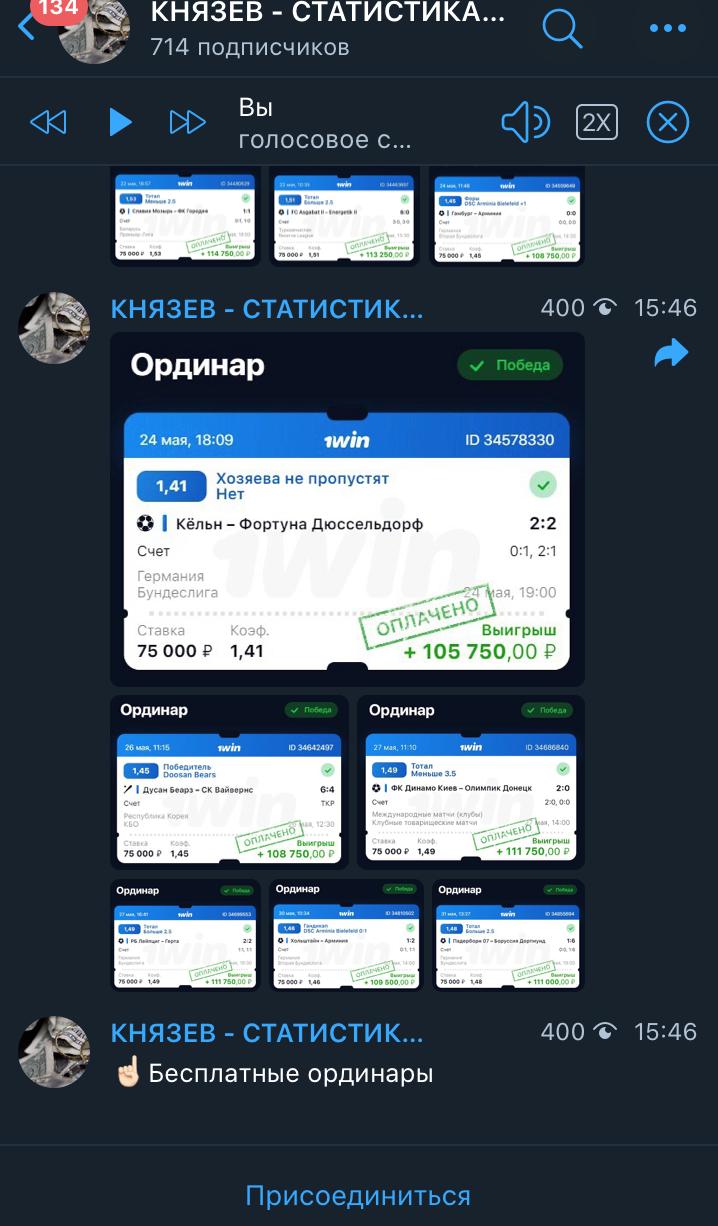 Статистика Артем Князев