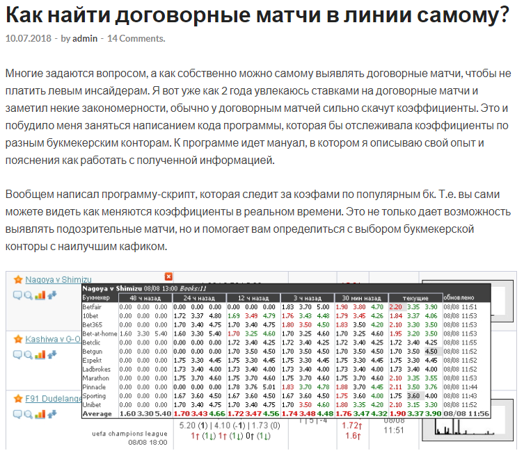 kupperrussia договорные матчи