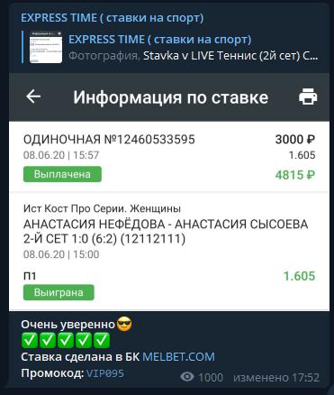 express time статистика