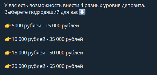 Цены от бота ВишМастер