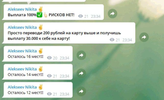 Инвестиции Никиты Алексеева